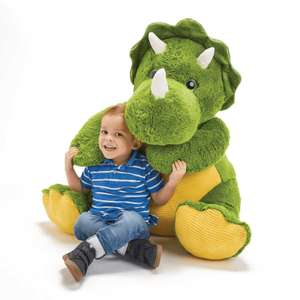 Snuggle Buddies 80cm Dinosaur - £39.99 + free Click and Collect @ The Entertainer