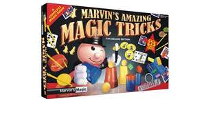 Marvin's Magic 225 Amazing Magic Tricks £10 @ Argos