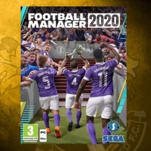 Football Manager 2020 £19.99 plus £1.94 Delivery @ Sutton United FC