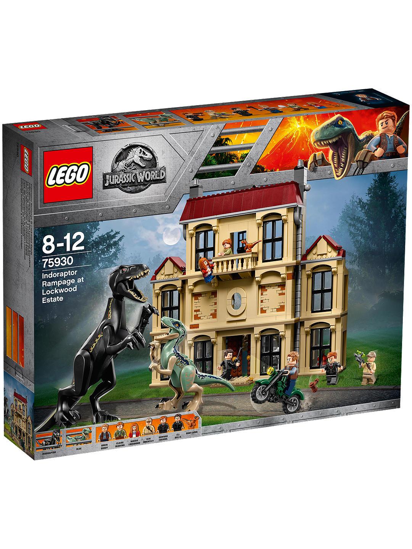 LEGO Jurassic World 75930 Indoraptor Rampage at Lockwood Estate - £76 @ John Lewis & Partners