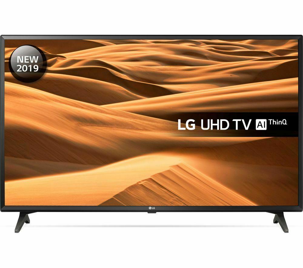 "LG 49UM7000PLA 49"" Smart 4K Ultra HD HDR LED TV - Currys / Ebay £296.10"