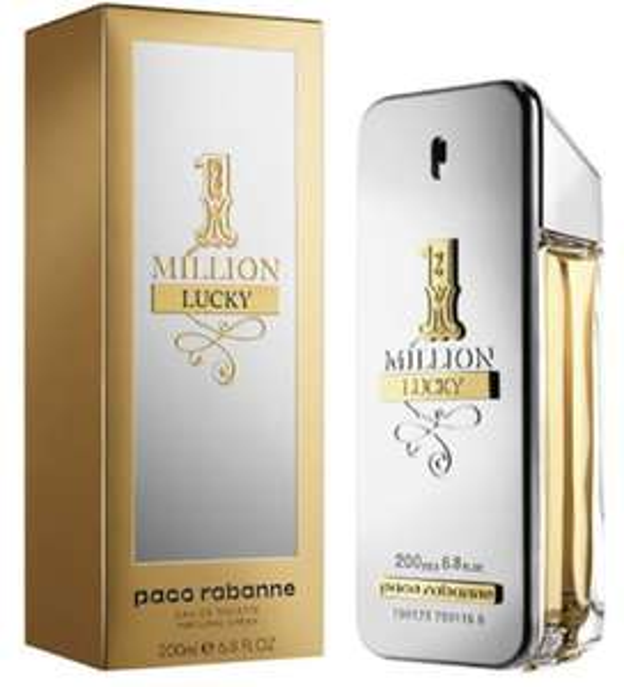 PACO RABANNE 1 Million Lucky 200ml EDT - £55.24 @ The Perfume Shop