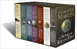 A Song of Ice and Fire, 7 Volumes £30 @ Amazon