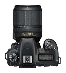 Nikon D7500 digital camera housing 20.9MP DX-CMOS filter without low pass optical filter, with 18-140 lens. Amazon.de with delivery £867.07