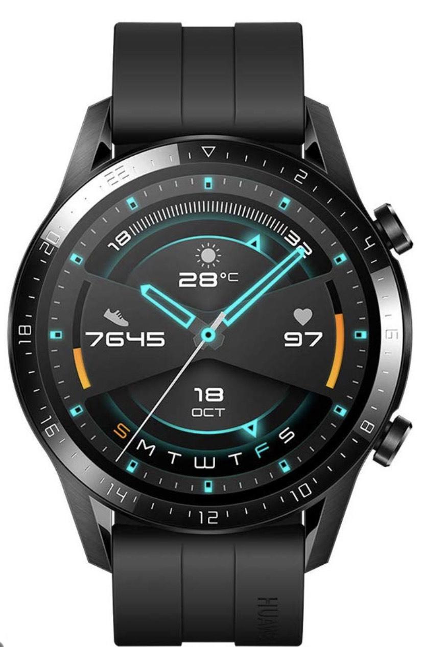 HUAWEI Watch GT 2 (46mm) Smart Watch Black or Orange £149.99 @ Amazon