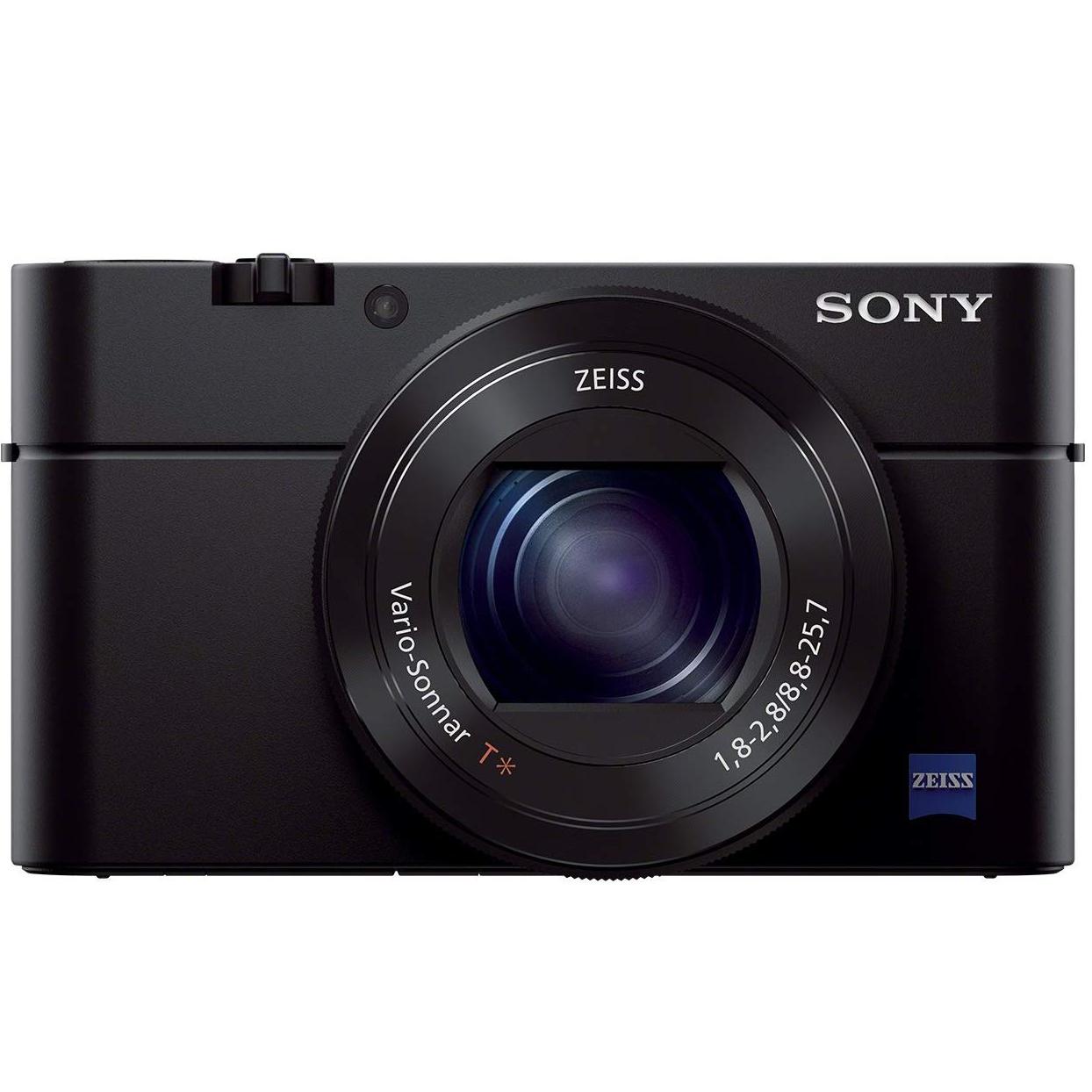 Sony RX100 III Advanced Compact Premium Camera with 1.0-Type Sensor, 24-70 mm F1.8-2.8 Zeiss Lens (DSC-RX100M3) - Black @ Amazon £349
