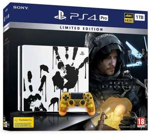 PS4 Pro Limited Edition Death Stranding Console Bundle + RDR 2 + GTA V + NOW TV 2 Months Pass - £304.99 (More Bundles in OP) @ Game