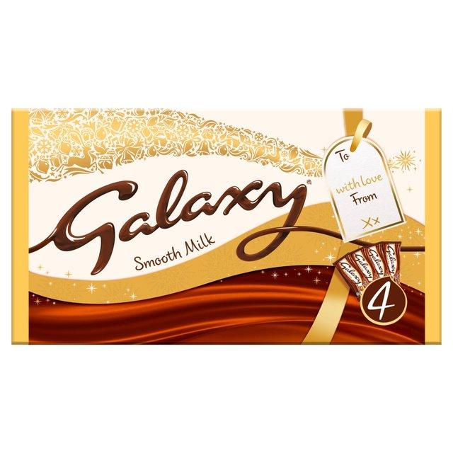 Galaxy Smooth Milk 4X200g £4 @ Morrisons