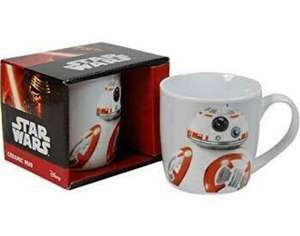 3 Pack of Star Wars BB8 Mugs £6.99 plus £3.99 postage licensedbargains.com