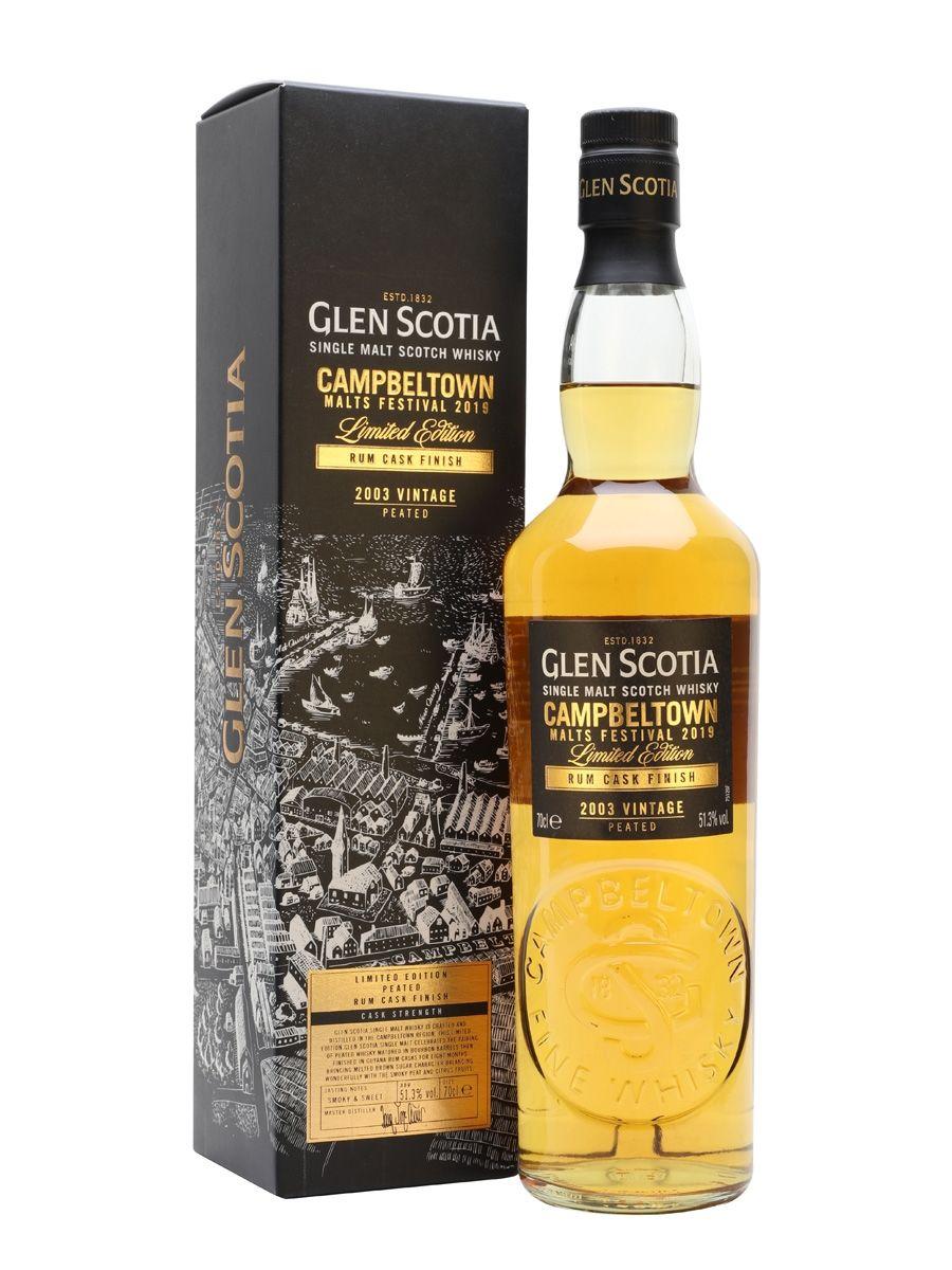 Glen scotia Campbeltown malts festival 2019 Scotch Whisky £54.95 loch fyne whiskies