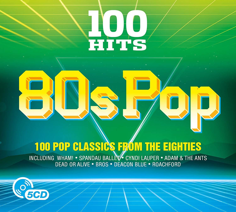 100 Hits - 80s Pop 5 CD boxset £3.99 (Prime) / £4.98 (non Prime) at Amazon