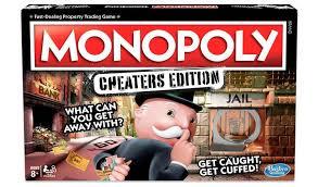Hasbro Monopoly Cheaters Edition £9 (+ £4.49 delivery for Non-Prime Members) @ Amazon