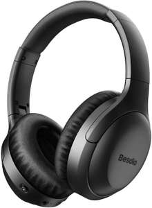 BesDio 2019 Active Noise Cancelling Headphones - Upto 30 Hours Playtime / Quick Charge £33.99 Sold by EU Noda Camp and Fulfilled by Amazon