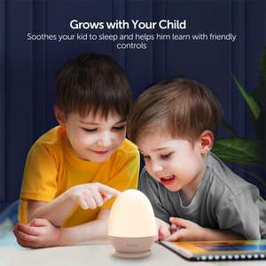 VAVA Night Lights for Kids Rechargeable Bedside Lamp £11.59 with Code Delivered with Prime + £4.49 without Prime @ Amazon / Sunvalleytek-UK