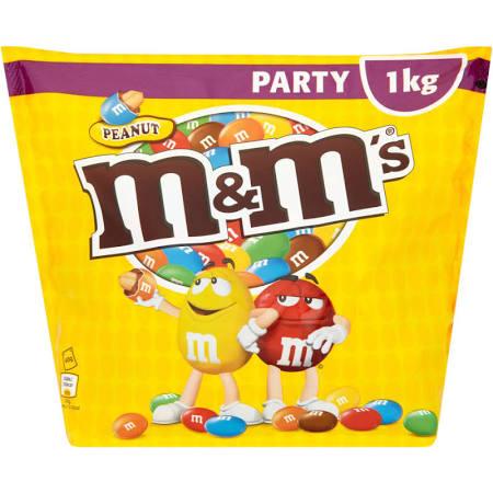 M&Ms 1KG Party Bag £5 @ Sainsburys