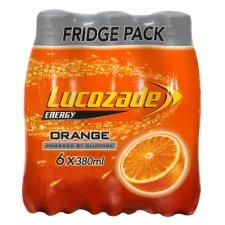 Lucozade Orange / Apple / Original / Pink Lemonade 6 X 380Ml £2 & Ocean Spray Cranberry & Apple Juice Drink 1L £0.67 @ Tesco