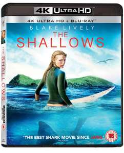 The Shallows (4K Ultra HD + Blu-ray) [UHD] - £8.50 delivered @ Zoom