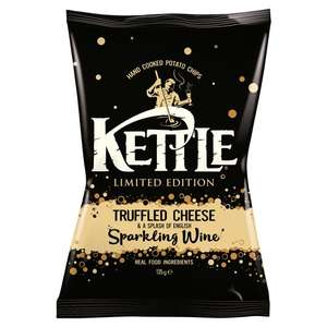 Kettle Crisps Truffled Cheese & Wine 135G (+ All other varieties) £0.99 @ Tesco