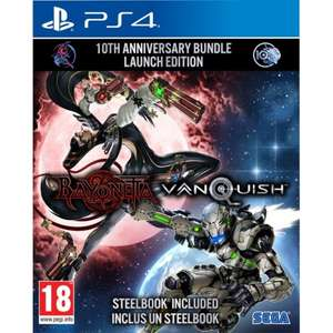 Bayonetta & Vanquish 10th Anniversary Bundle (PS4/Xbox One) £28.95 Delivered (Preorder) @ The Game Collection