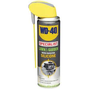 WD-40 Lawn & Garden - Cleaner / Silicone 250ml now £2 Robert Dyas instore