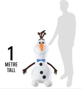 Giant Olaf plush reduced down to £20 @ Iceland In-Store / online
