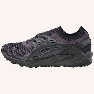 GEL-KAYANO TRAINER KNIT - UK Size ( 6, 6.5, 8, 8.5, 10 ) available - Darkest Grey Black - £39.99 - New with box @ expresstrainers / ebay UK