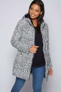 Womens Padded coat - Animal . (Black + Teal also available) - £16.99 Delivered @ Ace