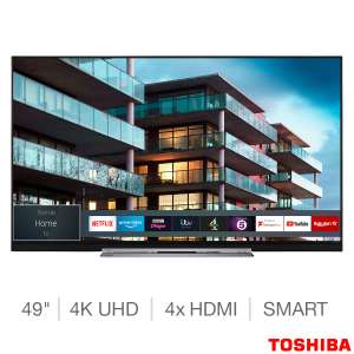Toshiba 49TL7A63DB 49 Inch 4K Ultra HD HDR Smart Slim Design TV - £329.89 @ Costco