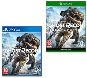 Ghost Recon Breakpoint (PS4 / Xbox One) - £21.85 delivered @ Base