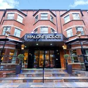 Malone Lodge Hotel Belfast stay for two with Breakfast, Dinner, Prosecco and Late Check-Out - 1 night £84.15 / 2 nights £139 @ Groupon