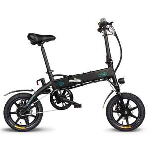 FIIDO D1 Folding Electric Moped Bike 10.4Ah Battery £348 @ Geekbuying