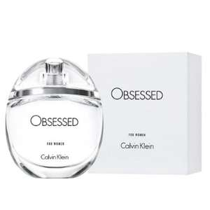 Calvin Klein Obsessed For Women EDP 100ml £27.16 delivered with code @ Perfume Shop Direct / eBay