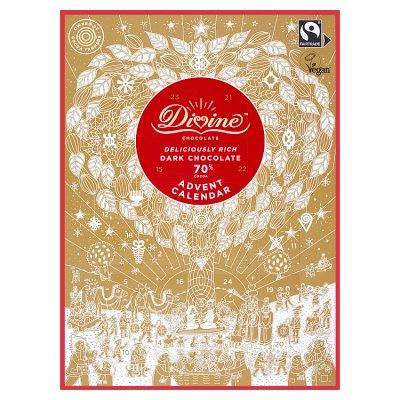 Divine Fair Trade 70% Dark Chocolate Advent Calendar 85g - 59p instore @ Waitrose & Partners