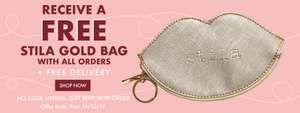 FREE delivery to Uk and ROI plus free gold bag @ Stila
