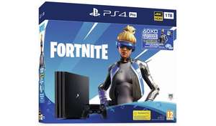 SONY PlayStation 4 Pro 1TB Fortnite Neo Versa + Days Gone + Rage 2 - £269.99 @ Argos (Free C&C)