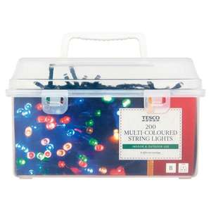Various Christmas Lights & Trees now 75% off @ Tesco