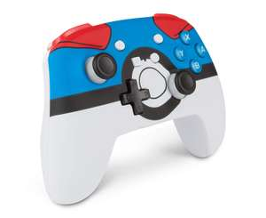 Enhanced Wireless Controller for Nintendo Switch - (Poké Ball / Pokemon great Ball / Pokemon Ultra Ball) £29.99 Delivered @ Amazon