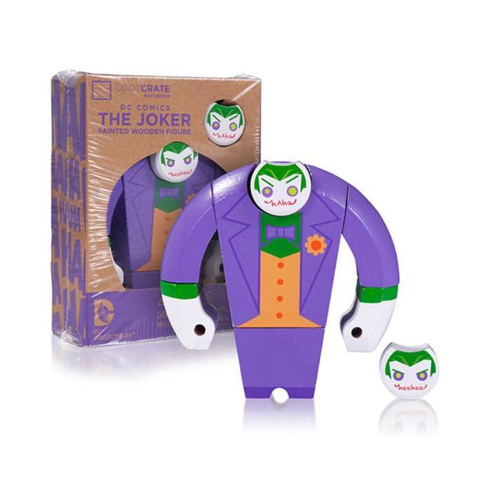 The Joker Painted Wooden Figure £1 @ Poundland