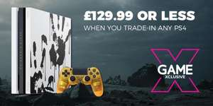 PS4 Pro £129.99 When You Trade-in @ GAME
