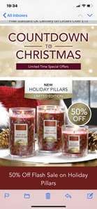 Large Tumbler Candles - £12 +£2.95 delivery at Yankee Candles