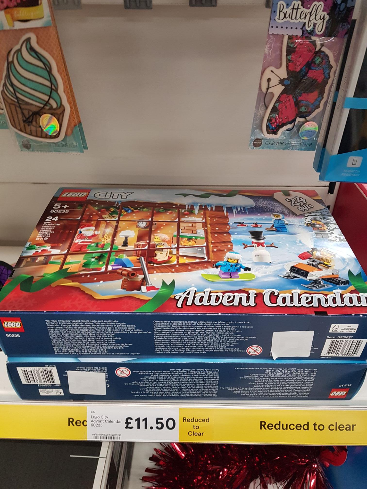 LEGO City Town: City Advent Calendar (60235) £11.50 @ Tesco instore
