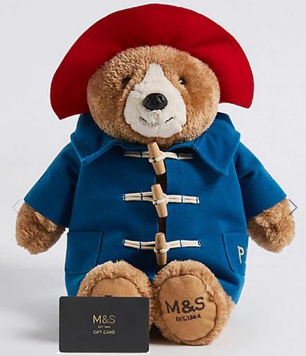 Marks Spencer Paddington Bear free when buying £100 of Gift Vouchers @ Marks & Spencer