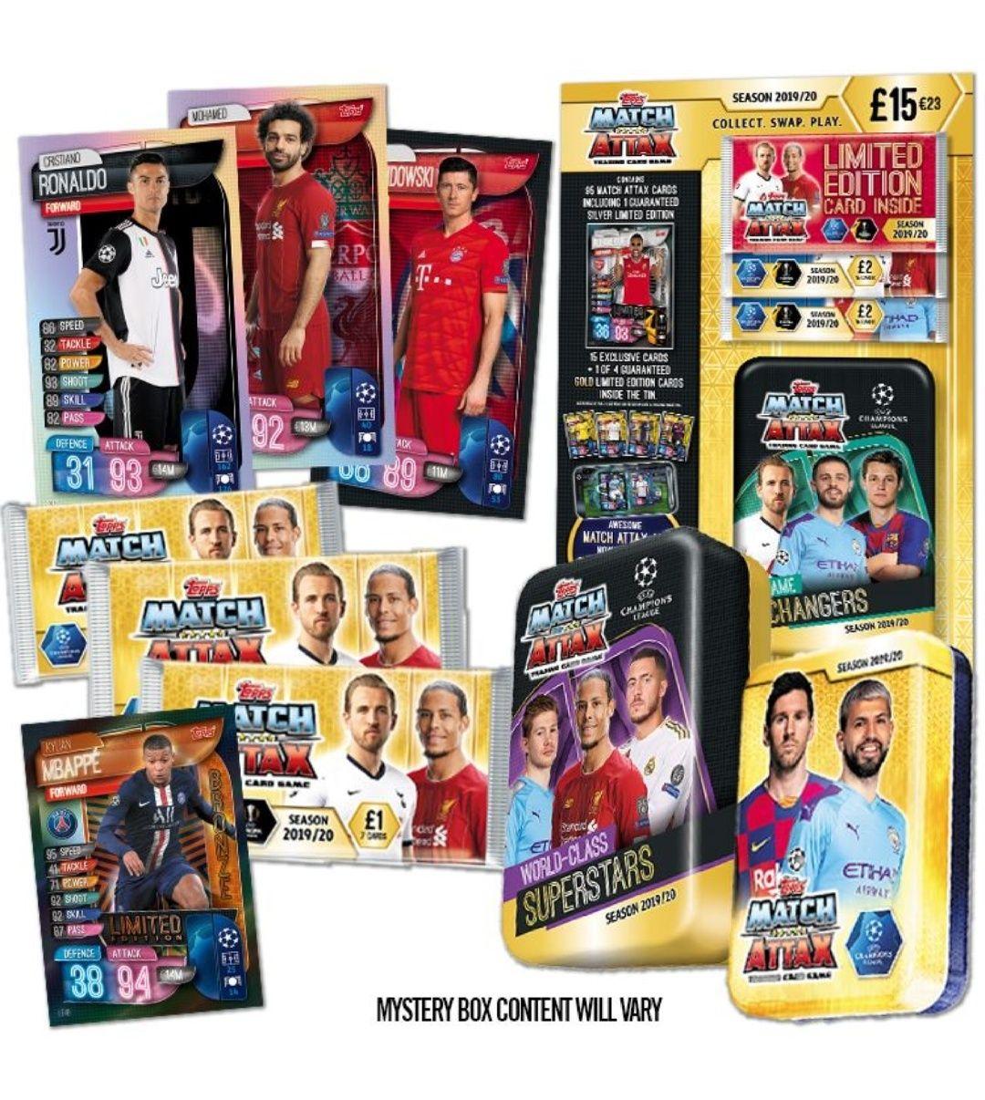 Match Attax Mystery Box - £19.99 @ Topps