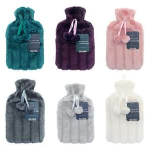 Buy one get one free hot water bottle (2 for £8) at Lloyds Pharmacy