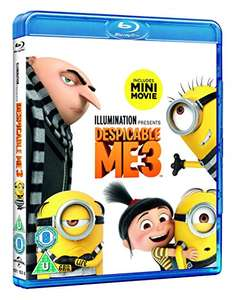 Despicable Me 3 - Blu Ray - £3.00 (Prime) / £3.01 (non prime) Sold by NextDayEntertainment and Fulfilled by Amazon