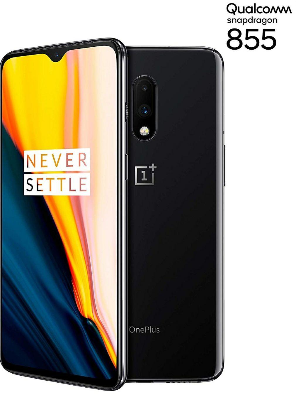 OnePlus 7 Smartphone Mirror Gray (16.3 cm) AMOLED Display 8 GB RAM + 256 GB Memory, Dual Camera (48 MP) - Dual SIM - £392.48 @ Amazon De