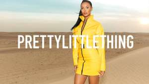 Prettylittlething free next day delivery on any item