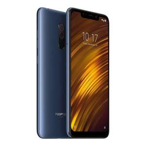 Xiaomi Poco F1 6gb/64gb in blue at Clove.co.uk for £189.98