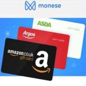 £100 gift card for just £80 [Limited supply] at Monese