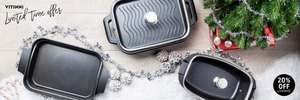 20% off all cookware at Vitinni
